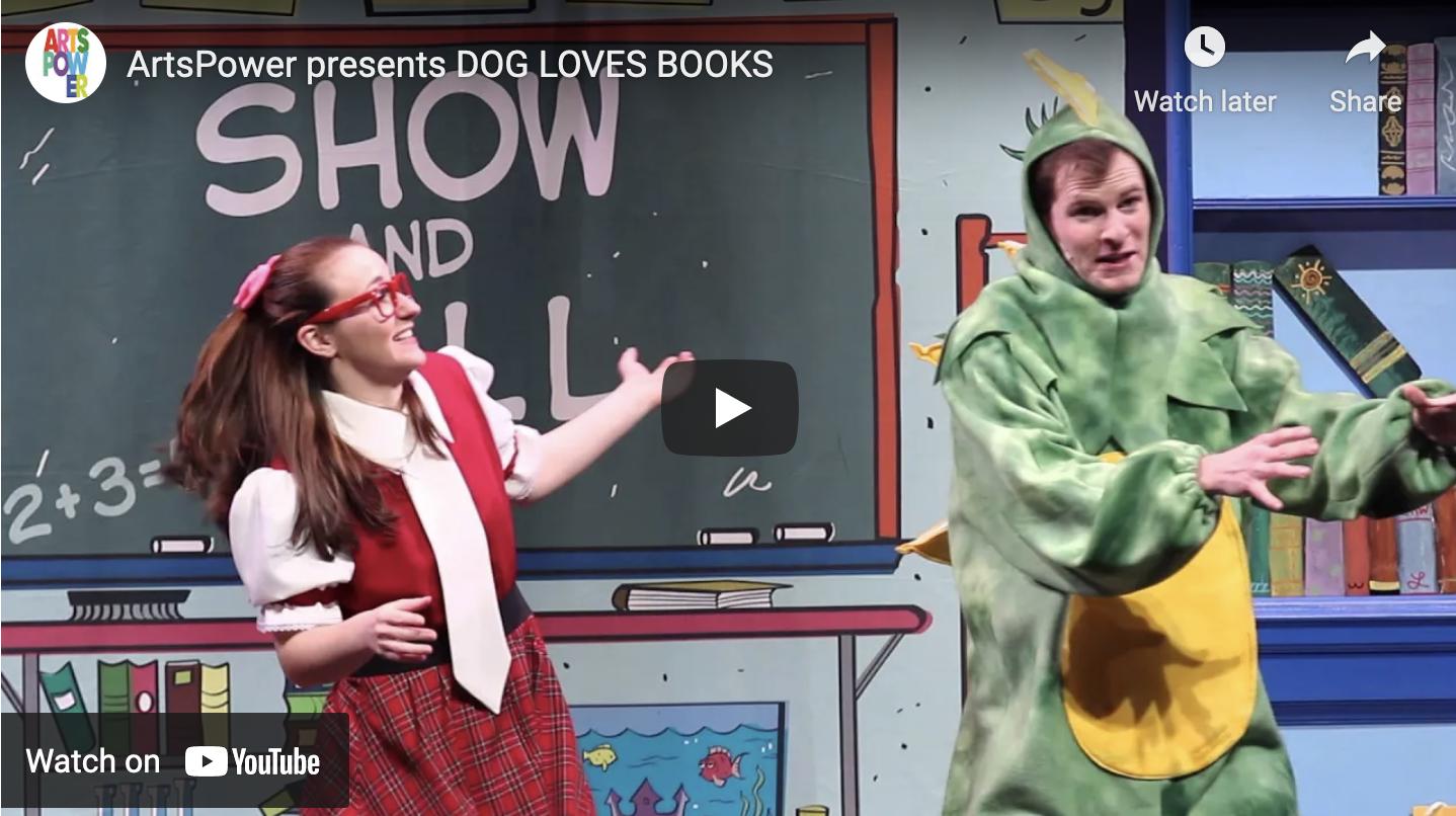 New Promotional Video: Dog Loves Books