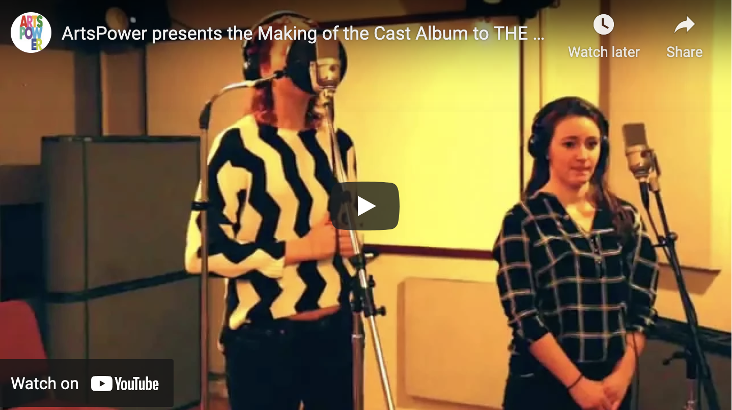 Cast Recording Session Video: The Monster Who Ate My Peas