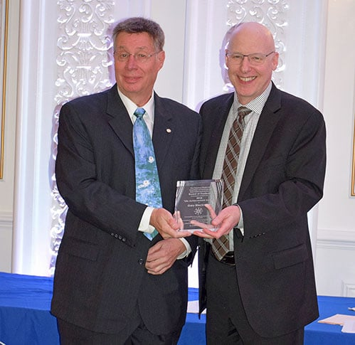Gary Blackman Receives Life Achievement Award